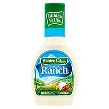 Hidden Valley Original Ranch Salad Dressing & Topping, 8 Ounce