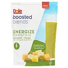 Dole Energize Pineapple + Mango Smoothie Frozen Fruit, 32 Ounce