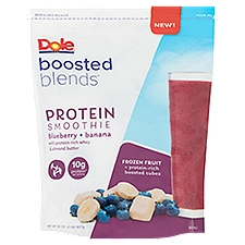 Dole Blueberry + Banana Protein Smoothie, 32 Ounce