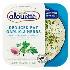 Alouette Light Garlic & Herbs Spreadable Cheese, 6.5 Ounce