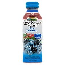 Bolthouse Farms 100% Fruit Smoothie + Boosts Blue Goodness, 15.2 Fluid ounce