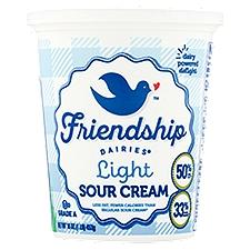 Friendship Light Sour Cream, 16 Ounce
