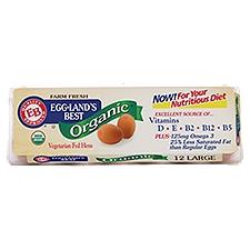 Eggland's Best Brown Eggs - Organic Grade A Large, 1 Each