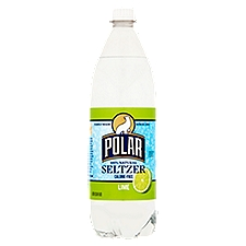 Polar Seltzer - Lime, 33.8 Fluid ounce