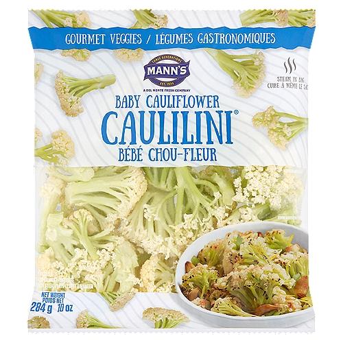 Mann's Gourmet Veggies Caulilini Baby Cauliflower, 10 oz