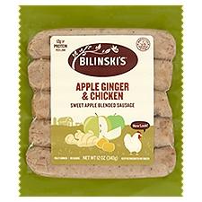 Bilinski's Chicken Sausage - Apple Chardonnay, 12 Ounce