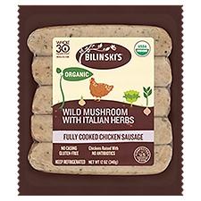 Bilinski's Organic Chicken Sausages, 12 Ounce