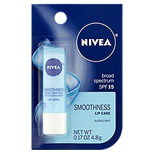 Nivea Lip Care Hydrating Kiss of Smoothness, 0.17 Ounce