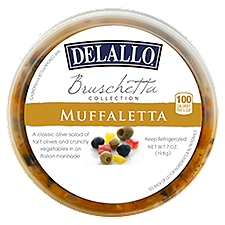 Delallo Muffaletta Bruschetta, 7 Ounce