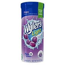 Wyler's Light Sugar Free Grape Drink, 1.16 Ounce
