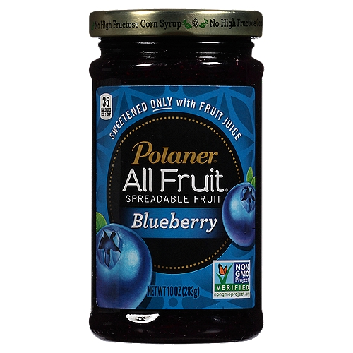 Sweetened Only with Fruit Juice. Non-GMO Project Verified. No High Fructose Corn Syrup. Gluten Free. No artificial colors or flavors.