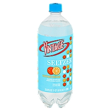 Vintage Seltzer - Mandarin Orange, 33.8 Fluid ounce