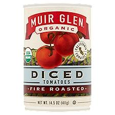 Muir Glen Organic Diced Fire Roasted Tomatoes, 14.5 Ounce