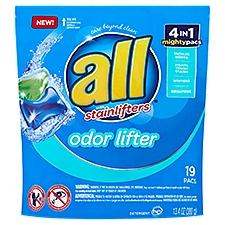 all Detergent Odor Lifter with Stainlifters, 254.6 Ounce