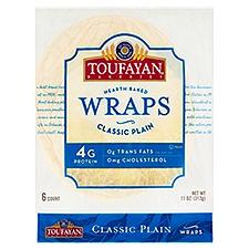Toufayan Bakeries Plain Wraps, 1 Each