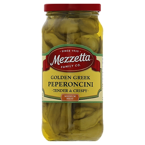 Naturally low in fat & carbs! Family owned since 1935 . Don't forgetta Mezzetta! In the Napa valley.