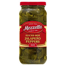 Mezzetta Deli-Sliced Hot Jalapeno Peppers, 16 Fluid ounce