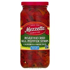 Mezzetta Red Bell Pepper Strips Mild Roasted, 16 Fluid ounce