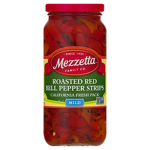 Our peppers are fire roasted within 24 hours of picking to keep flavor and color vibrant. They're just like Nonna made at home.