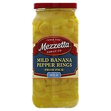 Mezzetta Deli-Sliced Mild Pepper Rings, 16 Fluid ounce