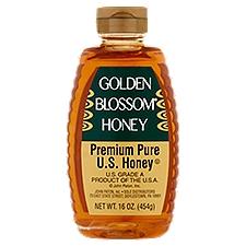 Golden Blossom Pure Honey - Genuine Natural, 16 Ounce