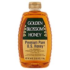 Golden Blossom Pure Honey - Genuine Natural, 40 Ounce