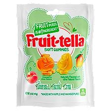 Fruit-tella Gummies, Apple and Mango Puree Soft, 5 Ounce