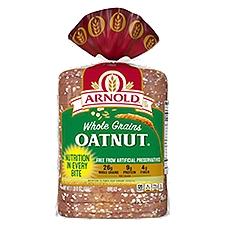 Arnold Whole Grains Oatnut Bread, 24 Ounce