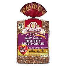 Arnold Whole Grains Healthy Multi-Grain Bread, 24 Ounce