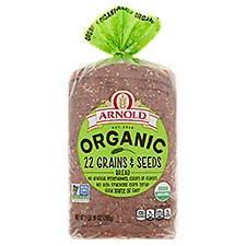 Arnold Organic 22 Grains & Seeds Bread, 27 Ounce