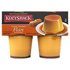 Kozy Shack Creme Caramel Flan, 16 Ounce