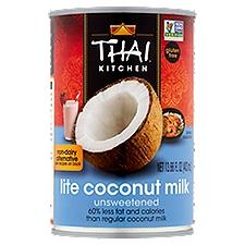 Thai Kitchen Gluten Free Lite Coconut Milk, 13.66 Fluid ounce