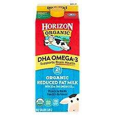 Horizon Organic 2% Reduced Fat DHA Omega-3 Organic Milk, 63.91 Fluid ounce