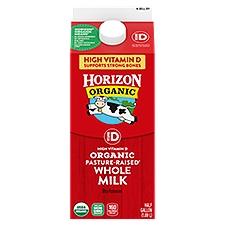 Horizon Organic Vitamin D Whole Organic Milk, 64 Fluid ounce