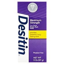 DESITIN Maximum Strength Original Paste, 2 Ounce