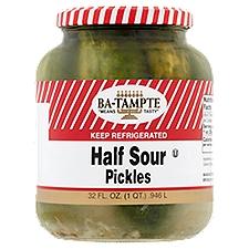 Ba-Tampte Pickles - Half Sour, 32 Fluid ounce