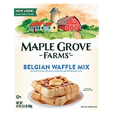 Maple Grove Farms Belgian All Natural Waffle Mix, 24 Ounce