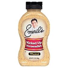 Emeril's Kicked Up Horseradish Mustard, 12 Ounce