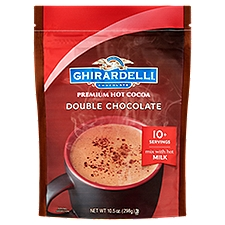 Ghirardelli Chocolate Premium Hot Cocoa - Double Chocolate, 10.5 Ounce