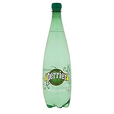 Perrier Sparkling Natural Mineral Water, 33.8 Fluid ounce