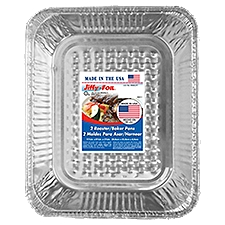 Jiffy Foil Bakeware - Roaster Baker, 2 Each
