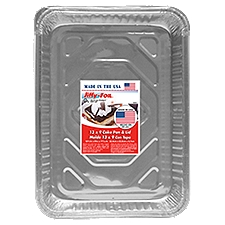 Jiffy Foil Bakeware - Utility Pan With Lid, 1 Each