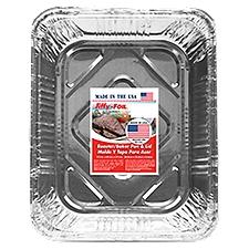 Jiffy Foil Bakeware - Roaster Baker With Lid, 1 Each