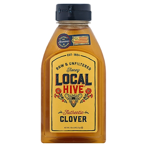 We've Always Made Our Honey One Way: Locally. We Partner with American Beekeepers from Coast to Coast to Bring You Authentic, Mild Clover Honey that's Simply Sweet and Beautifully Floral. It's Raw & Unfiltered, Straight from American Beekeepers to You.