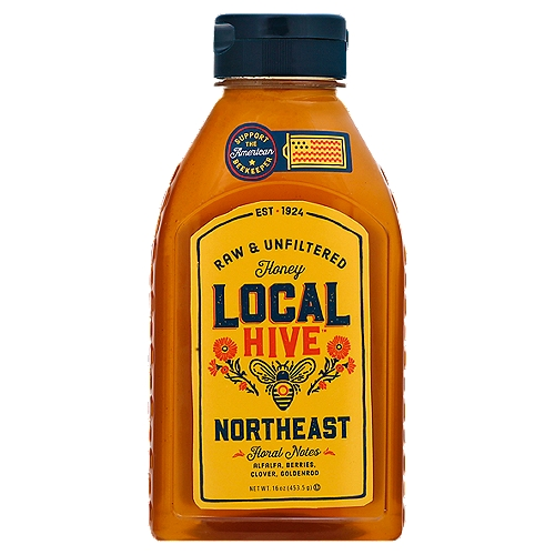 We've Always Made Our Honey One Way: Locally. We Partner with Beekeepers Throughout the Northeast to Bring You Local Honey that Takes a Sweet Stroll Through the Flowers Dotting the Region's Peaks and Valleys. It's Raw & Unfiltered, Straight from American Beekeepers to You.