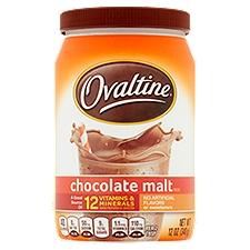 Ovaltine Flavored Milk Additive - Chocolate Malt, 12 Ounce