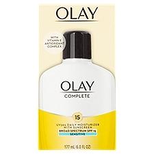 Olay Complete Lotion Moisturizer with SPF 15, 6 Fluid ounce