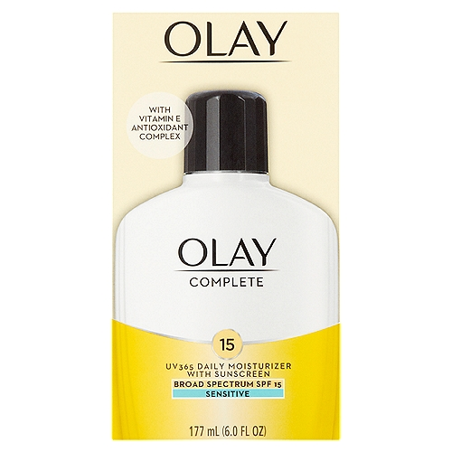 For sensitive skin. Oil-free, fragrance-free, non-greasy, dermatologically tested & non-comedogenic (won't clog pores) formula for sensitive skin types.