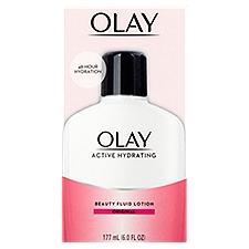 Olay Active Hydrating Beauty Moisturizing Lotion, 6 Fluid ounce