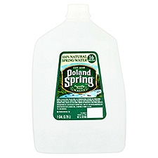 Poland Spring 100% Natural Spring Water, 128 Fluid ounce